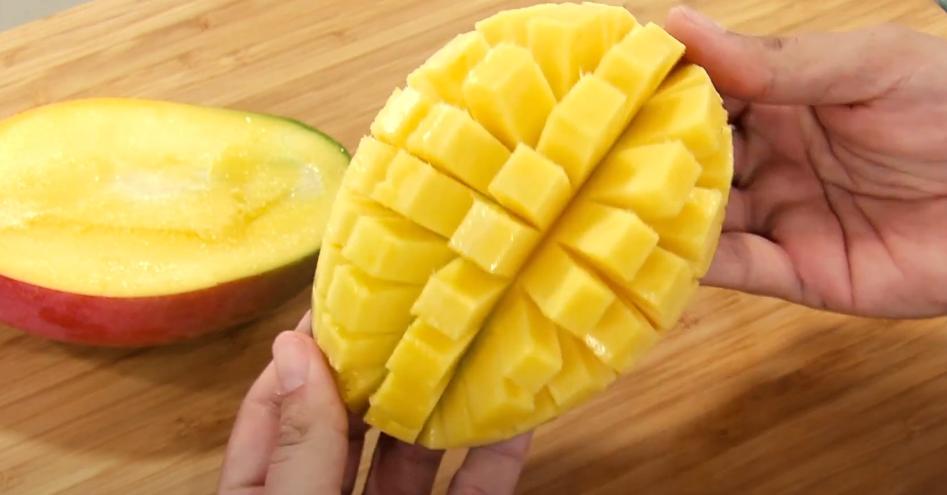 ¿Cómo cortar un mango?