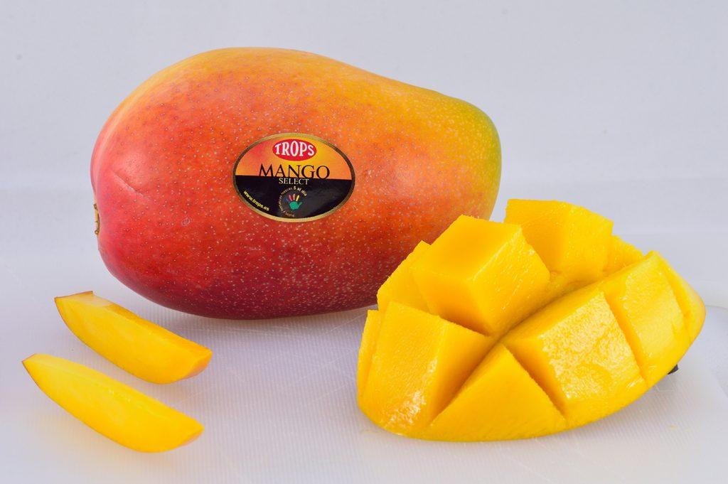 Información nutricional del mango