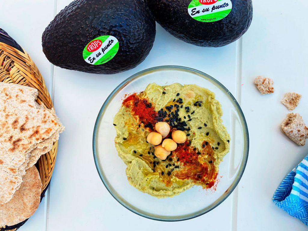 Hummus de aguacates